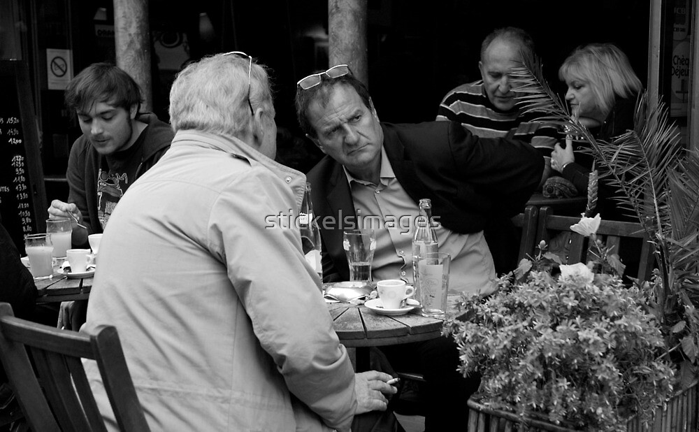 peoplescapes #253, the itch  by stickelsimages
