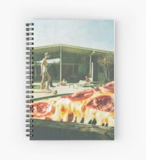 Pizza pool Spiral Notebook
