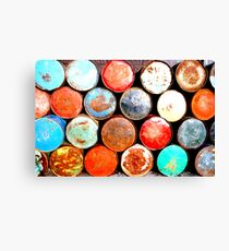 Rusty Colours Canvas Print