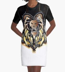 Alionbull Graphic T-Shirt Dress