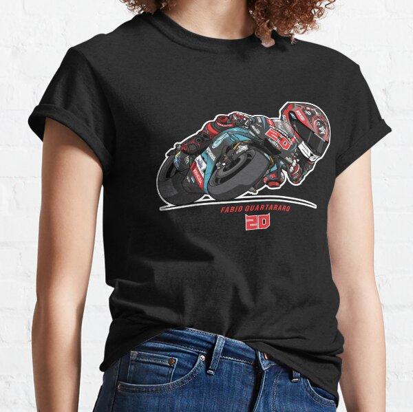 PETRONAS YAMAHA SRT TEAM MOTO GP - FABIO QUARTARARO V - 1 Classic T-Shirt