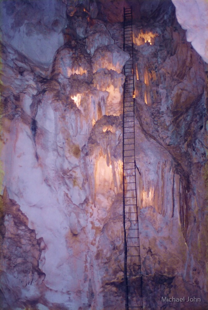 Jenolan Caves Ladder by Michael John