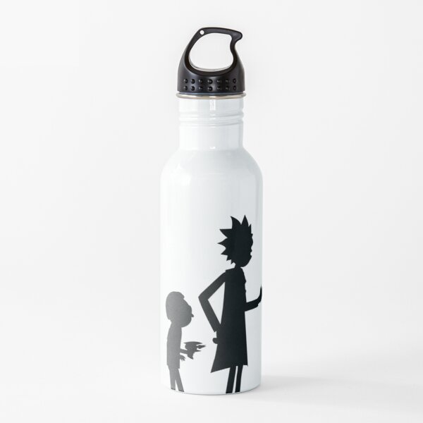 duo grandfather and grandson Water Bottle