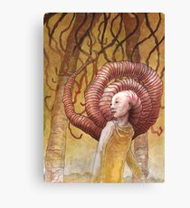 Forest of Angled Brains Canvas Print