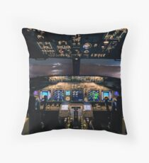 Stormfront ahead Throw Pillow