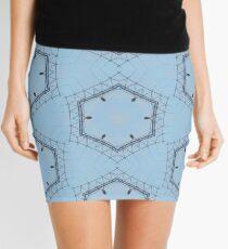 Hexagons of wire Mini Skirt