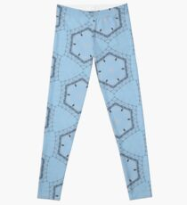 Hexagons of wire Leggings