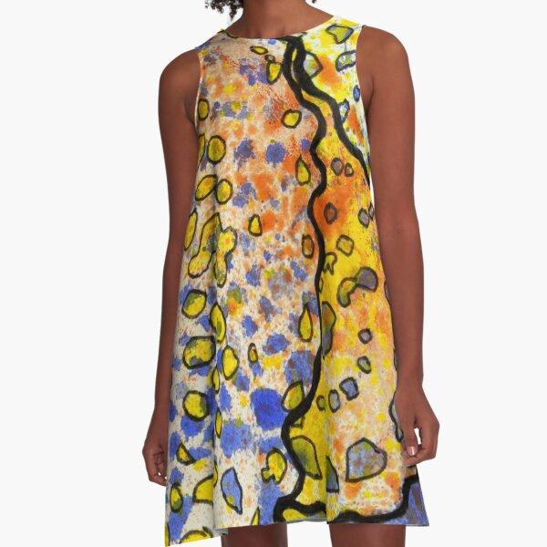 3, Inset B A-Line Dress
