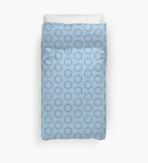 Hexagons of wire Duvet Cover