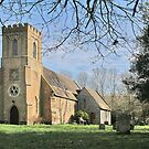 Church of St.John, Newtimber, West Sussex by dgbimages
