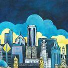 Chicago Skyline - stroll down Michigan Avenue by DawnEaton