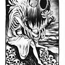 Death Tarot Card by Anyaboz