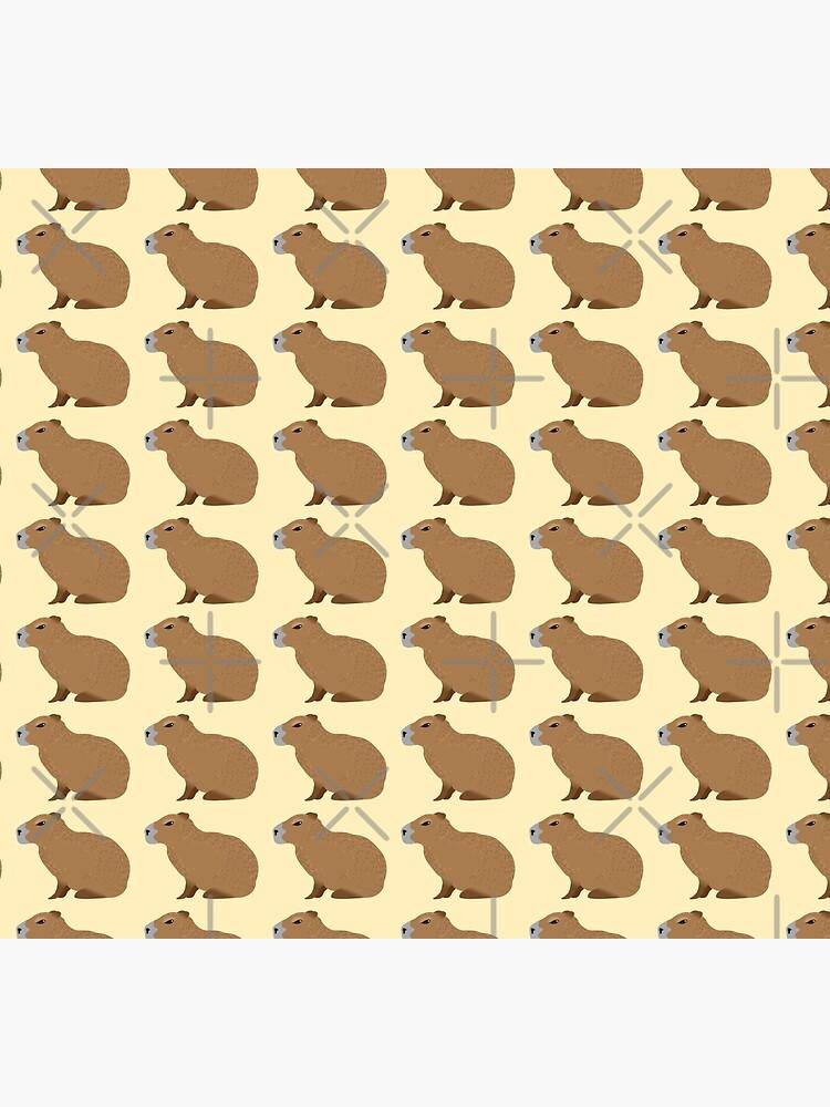 Capybara by jazzydevil