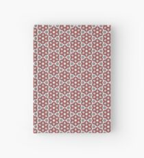 Plush Red Floral Hardcover Journal