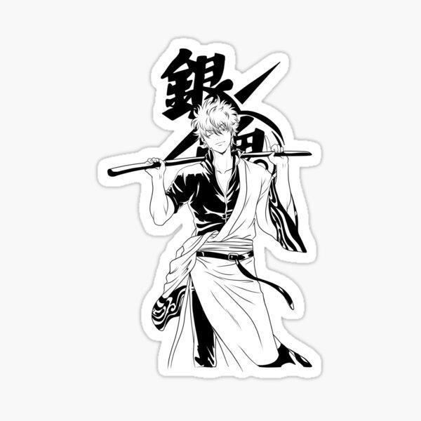 GINTOKI Sticker
