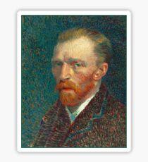 Vincent van Gogh - Self Portrait - Auto Portrait tshirt Sticker