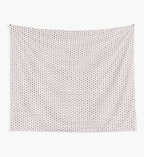 Lace Flowers on Grey Wall Tapestry