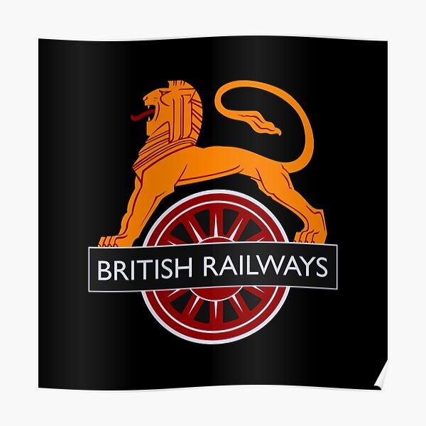 Vintage British Railways Design Poster