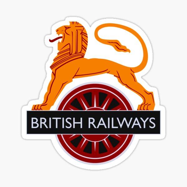 Vintage British Railways Design Sticker