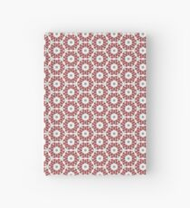 Grey, Red and White Hardcover Journal