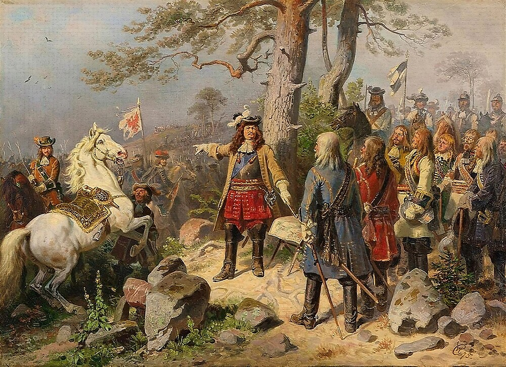 The Great Elector at Battle of Fehrbelln,1675 by edsimoneit