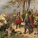 The Great Elector at Battle of Fehrbelln,1675 by edsimoneit