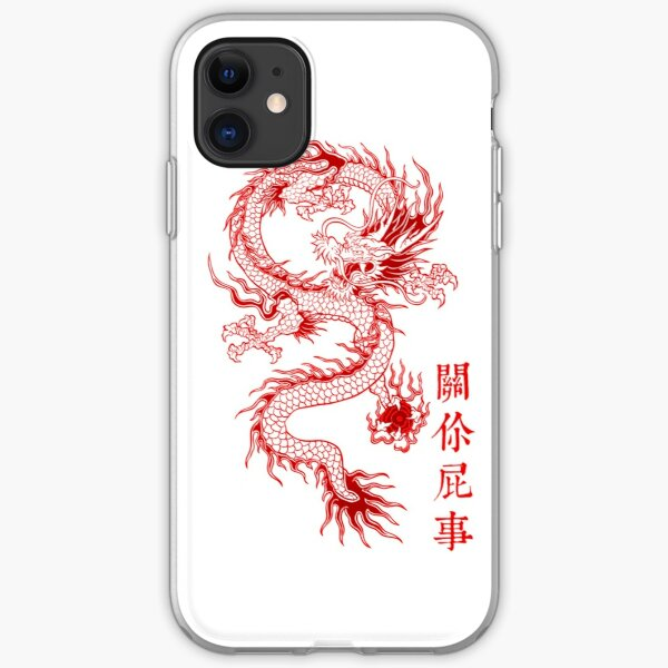 Traditional Dragon  iPhone Soft Case