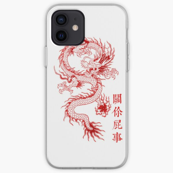Dragon traditionnel Coque souple iPhone