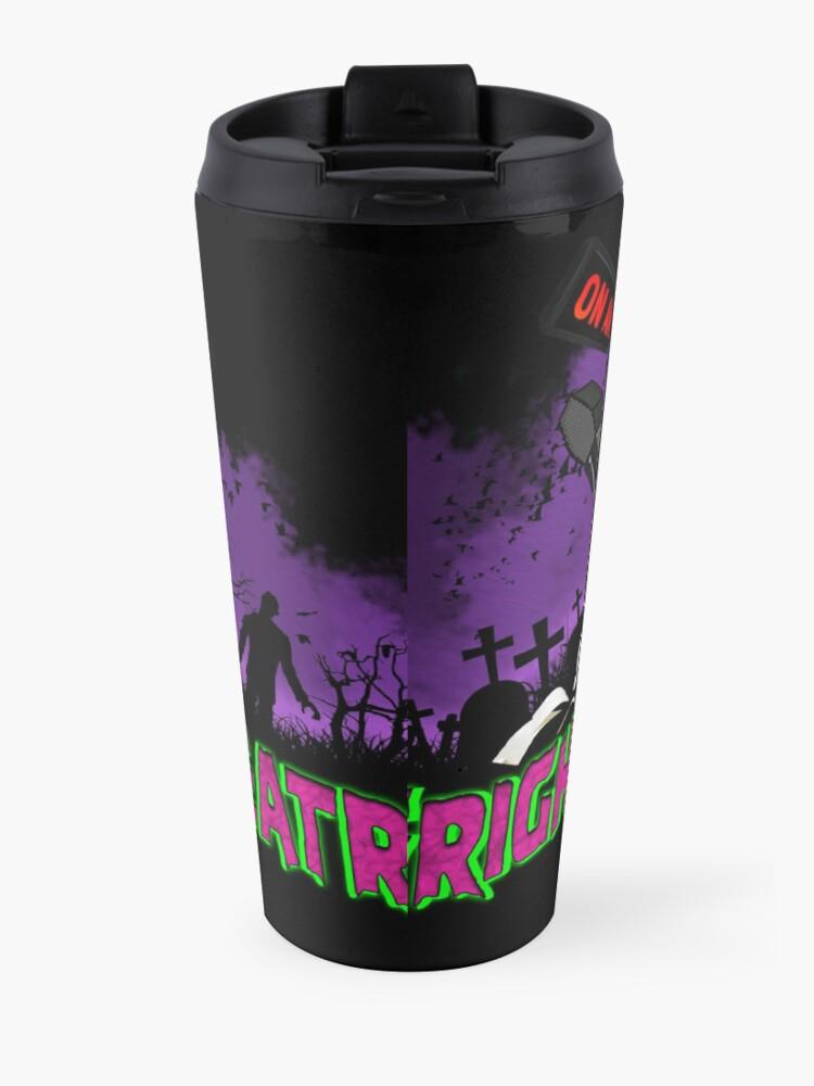 Alternate view of FRIGHTMARE THEATRE PODCAST MAIN Travel Mug
