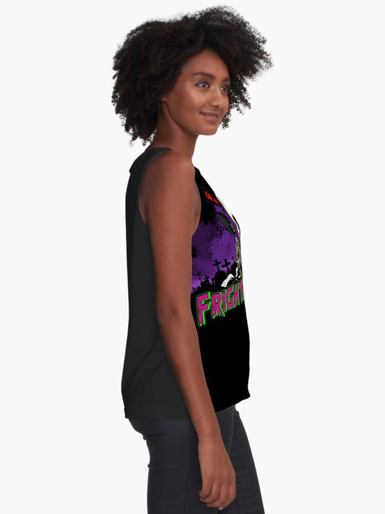 Alternate view of FRIGHTMARE THEATRE PODCAST MAIN Sleeveless Top