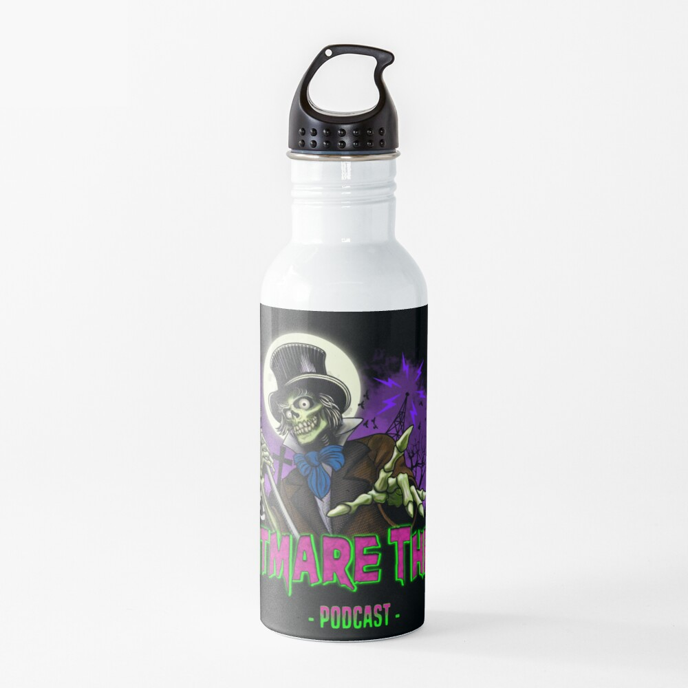 FRIGHTMARE THEATRE PODCAST MAIN Water Bottle