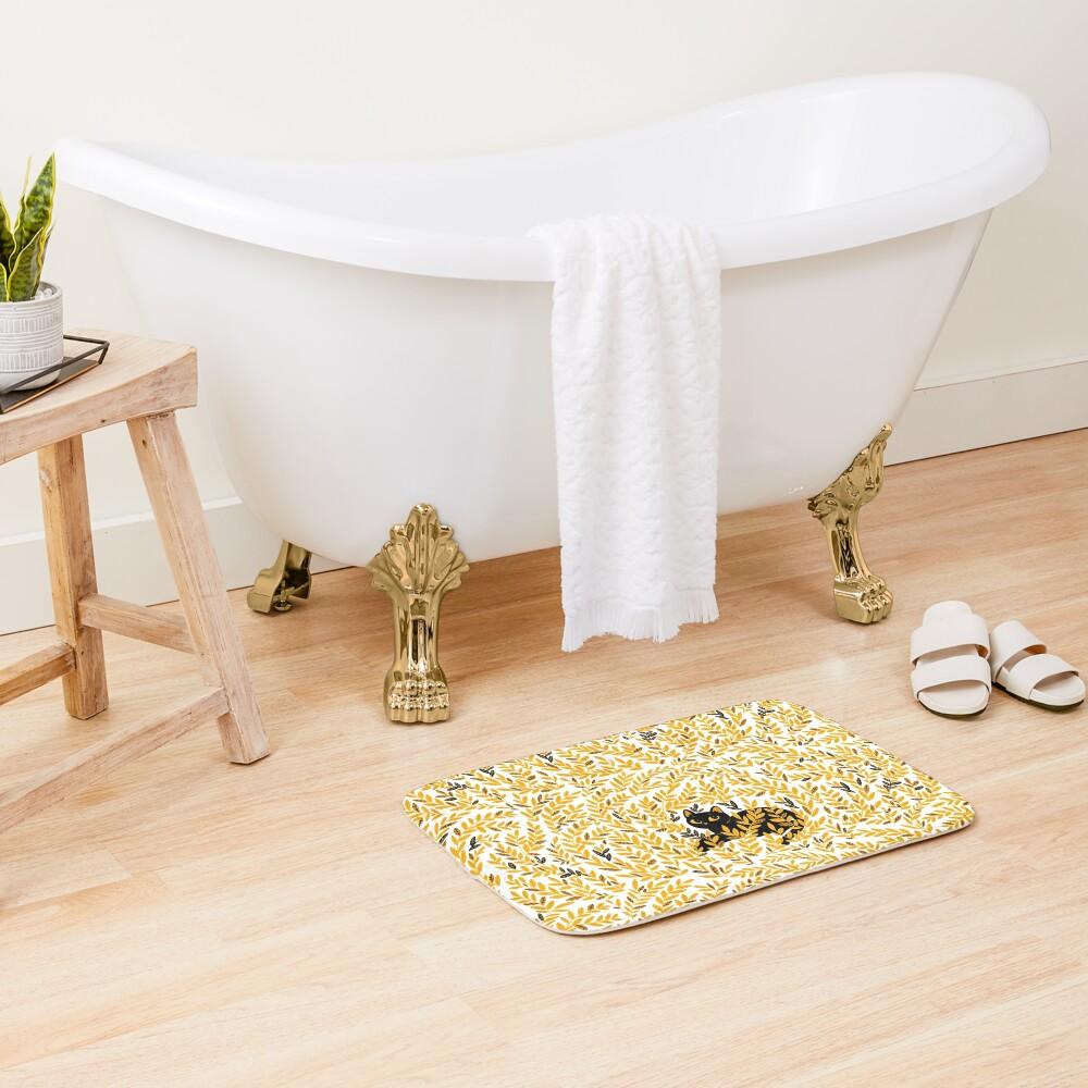 Honey Bath Mat