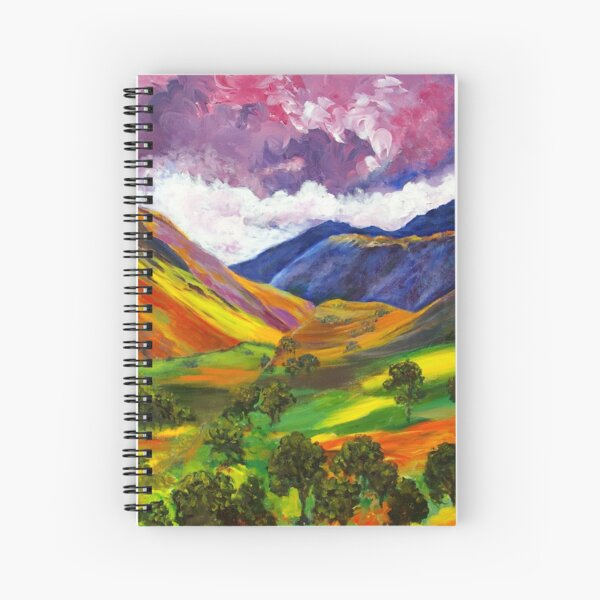 Living Colour Spiral Notebook