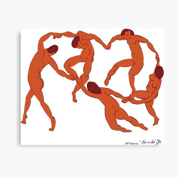 Henri Matisse - La Danse (The Dance) - Artwork Reproduction for - Wall Art, Prints, Posters, Canvas, Tshirts, Men Women Youth Canvas Print