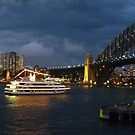 Sydney Harbour Showboat by TonyCrehan