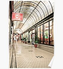 Cathedral Arcade, Melbourne Poster