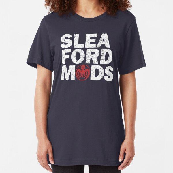 Sleaford Mods (distressed design) Slim Fit T-Shirt