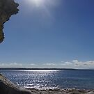 Hole in the Wall, Jervis Bay, NSW by BronReid