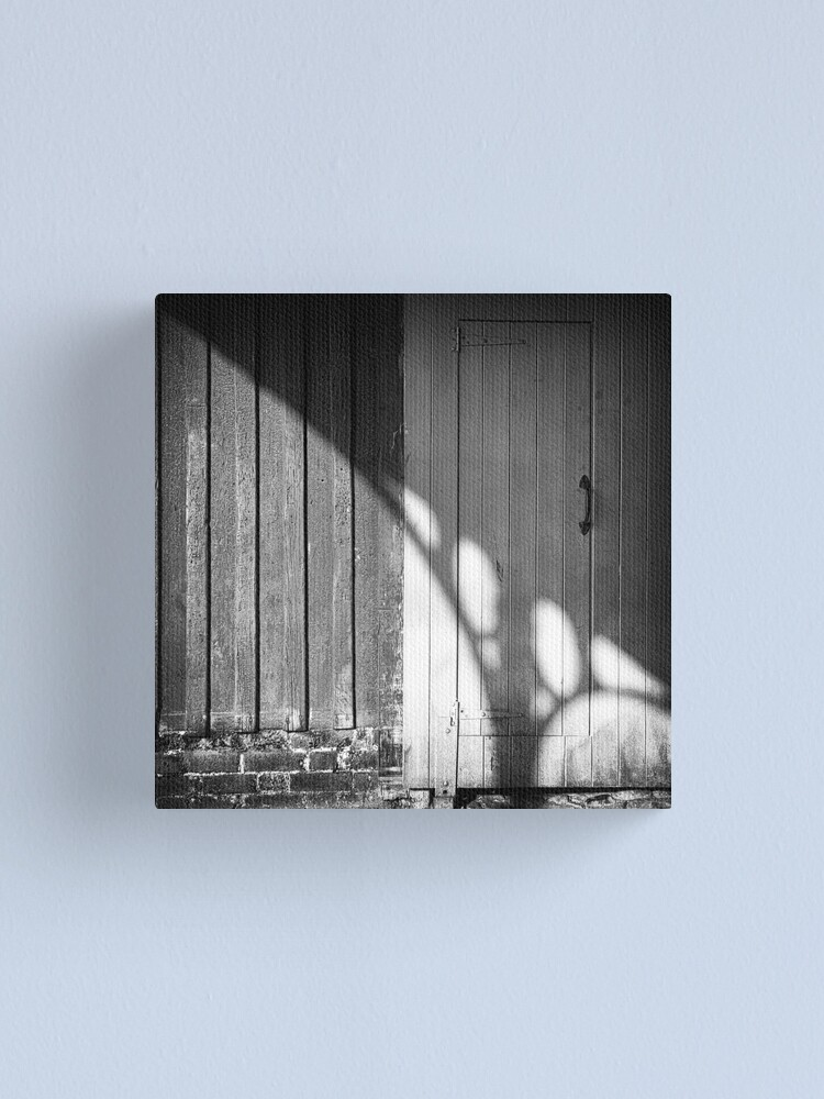 Alternate view of Enter with Care Canvas Print