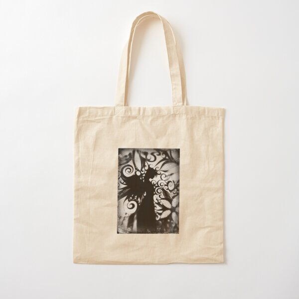 Ghost Angel Cotton Tote Bag