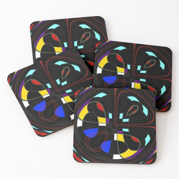 The Twisted Box Coasters (Set of 4)