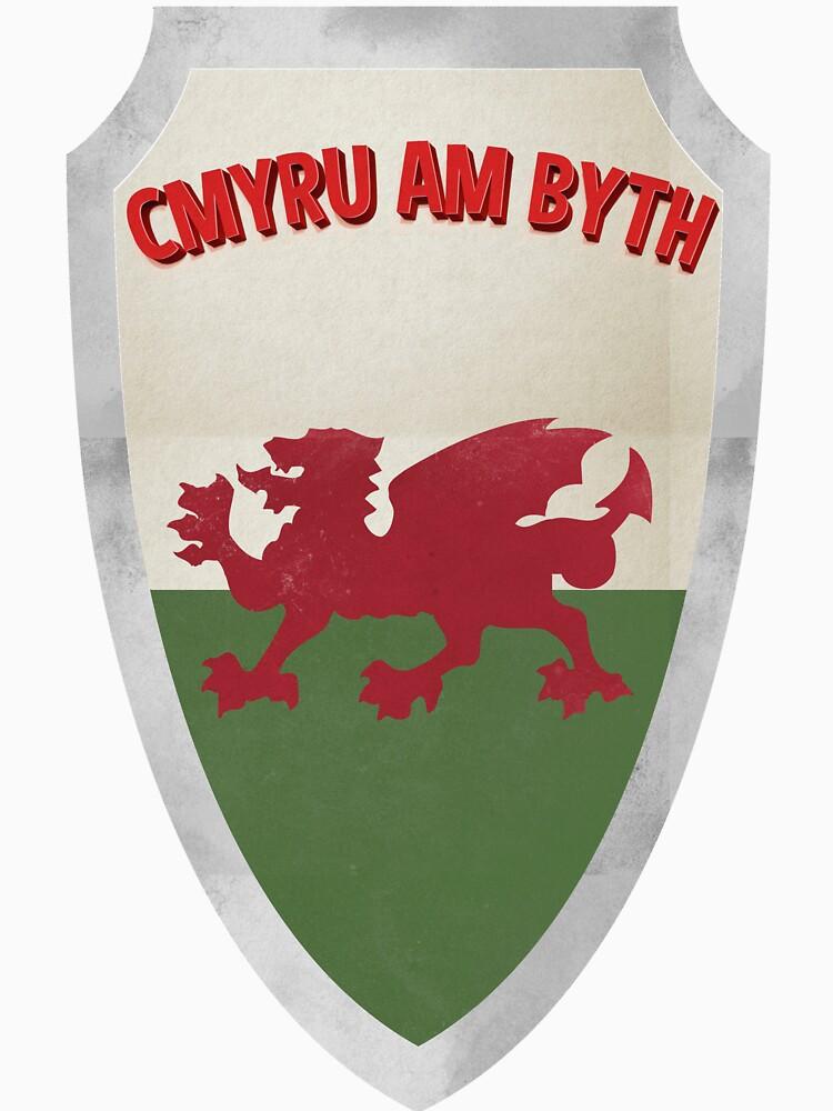 Shield of Wales by zekret