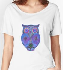Ornate Owl 5 Women's Relaxed Fit T-Shirt