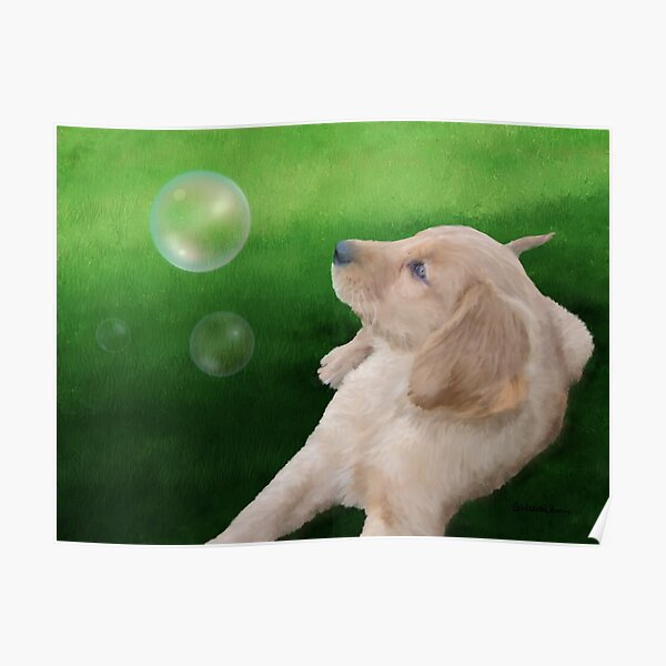Golden Pup Poster