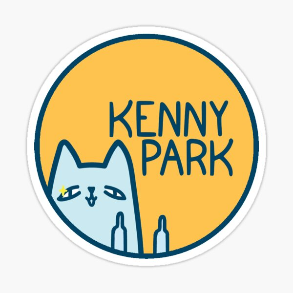 Kenny Park Logo Sticker