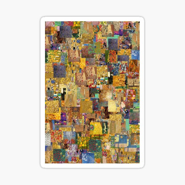 Gustav Klimt Sticker