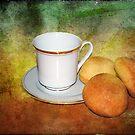 Tea Cup Still Life by DottieDees