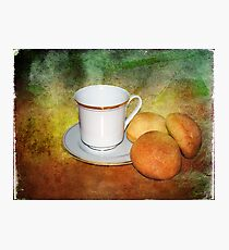 Tea Cup Still Life Photographic Print