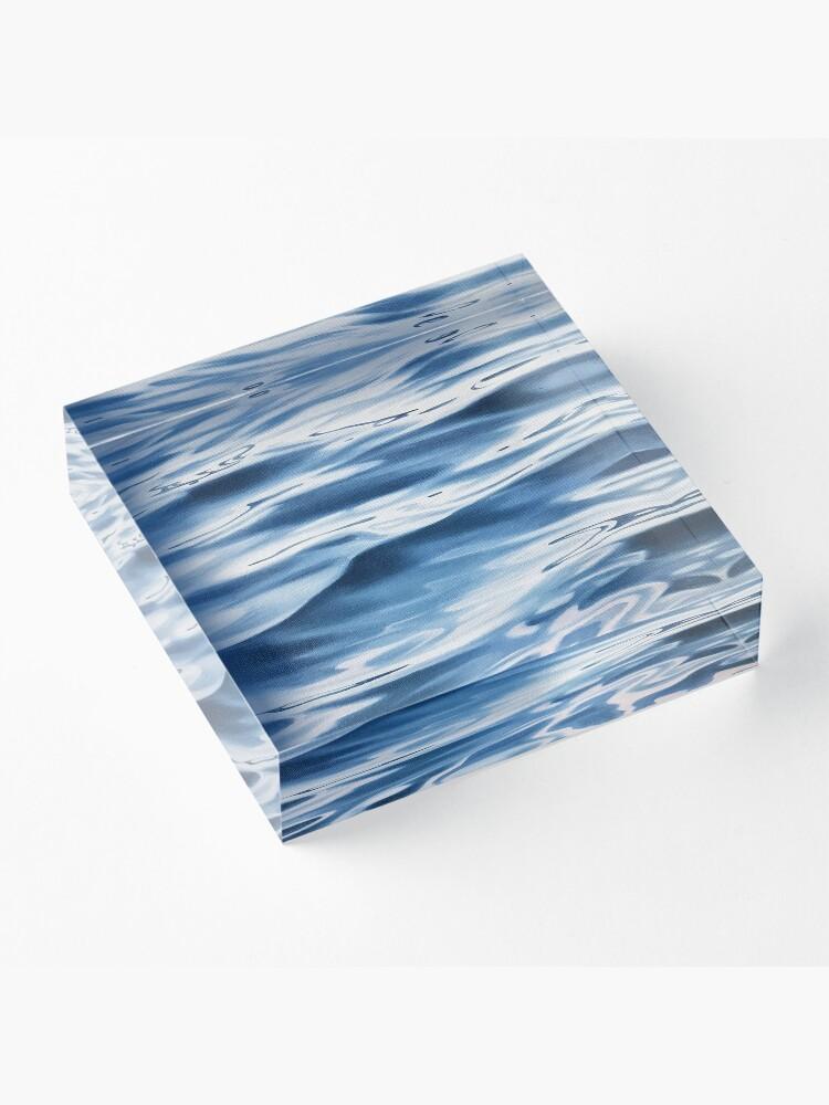 Alternate view of Passage - water painting Acrylic Block