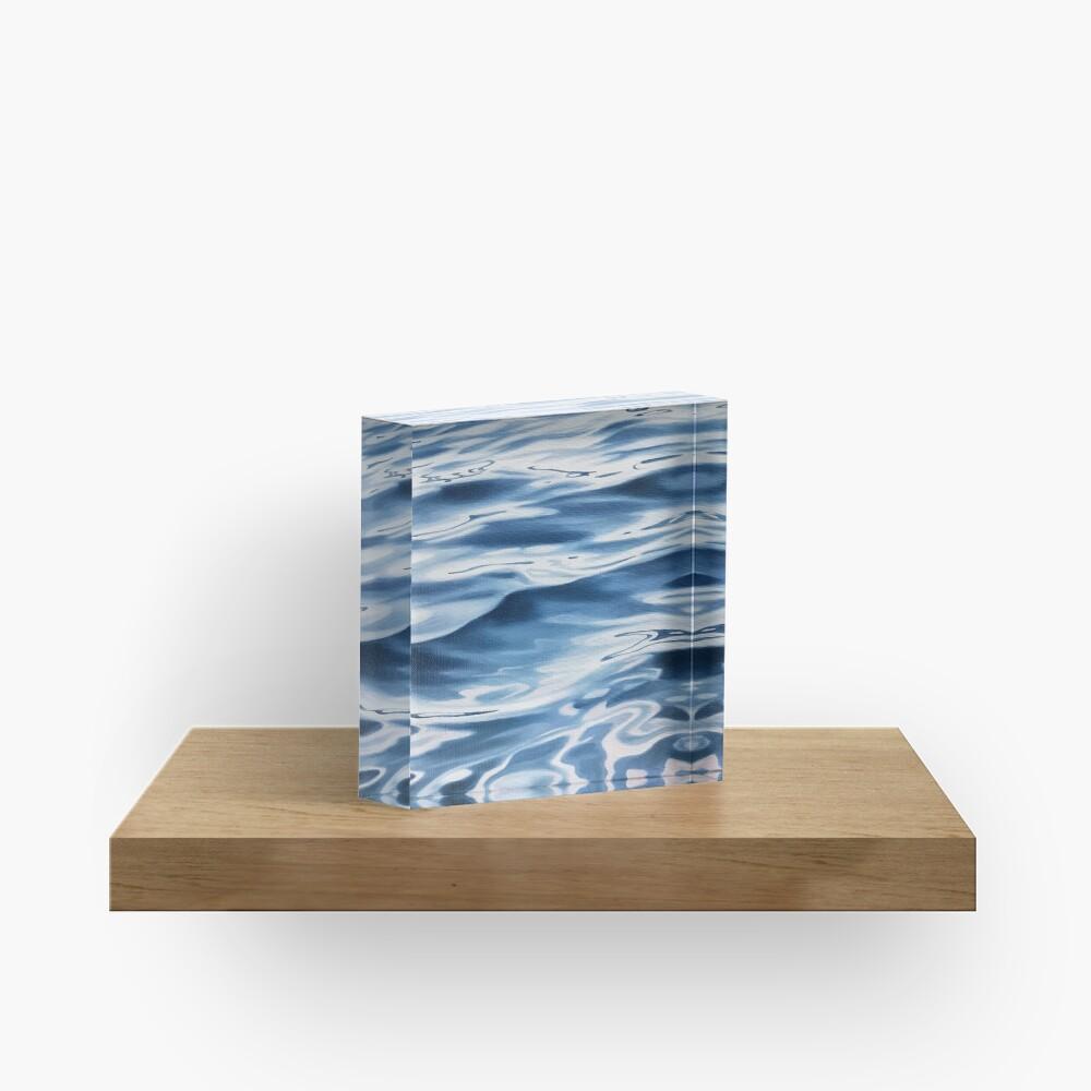 Passage - water painting Acrylic Block
